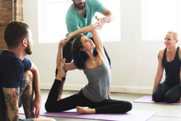 Cours de yoga au Studio Massaro Paris Nation